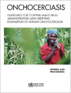 Cover for Onchocerciasis Guidelines