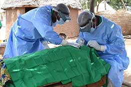 Mobile Trachiasis Surgery Team, Cameroon
