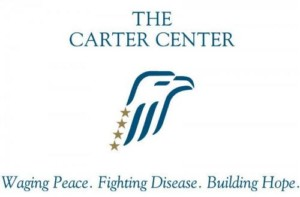 Logo for the carter center
