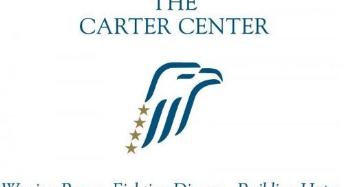 Logo for the carter center