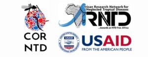 Logo of USAID, COR-NTD, and RNTD