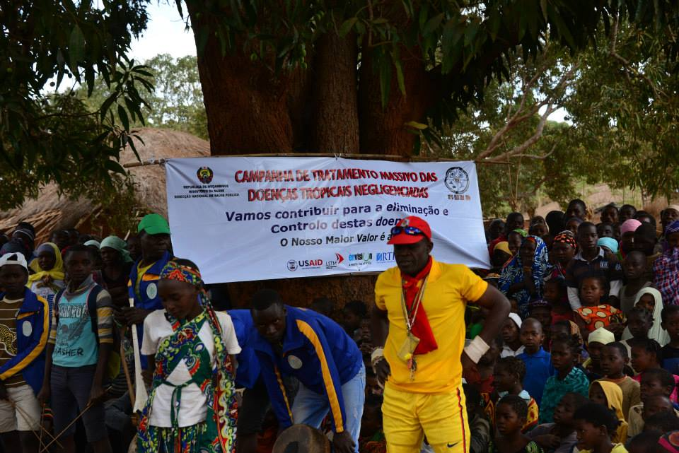 This event marked the official launch of the MDA campaign in Cabo Delgado, Mozambique.