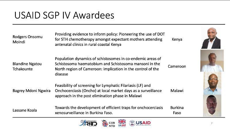 USAID Grantees